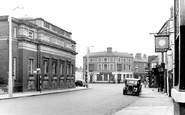 Stafford, the Public Library c1955