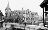 Stafford, the Royal Brine Baths c1950