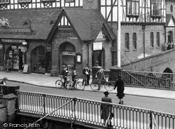 The Royal Brine Baths c.1950, Stafford