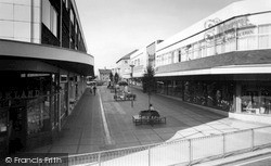 Stafford, The Shopping Centre c.1965