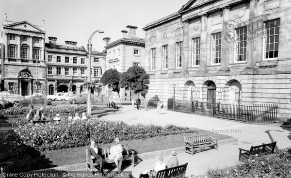 Stafford, Town Centre c1965