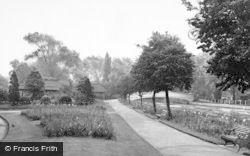 Stafford, Victoria Gardens c.1955