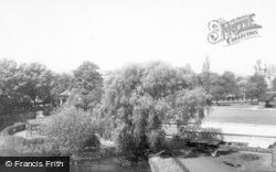 Stafford, Victoria Gardens c.1960