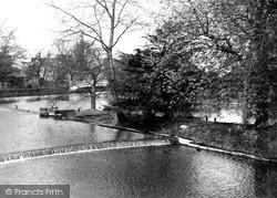 Stafford, Victoria Park c.1950