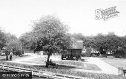 Stafford, Victoria Park c.1955