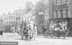 Staines, Coach And Horses 1895
