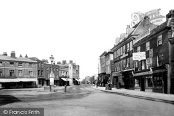 Staines, High Street 1895