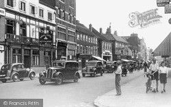 Staines, High Street 1949
