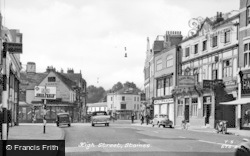 Staines, High Street c.1955
