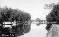 Staines, Railway Bridge 1890