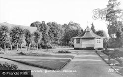 Staines, Riverside Gardens c.1965
