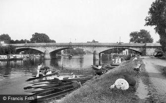Staines, the Bridge 1907
