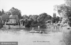 Staines, The River c.1950