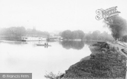 Staines, The River Thames 1890
