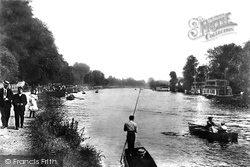 Staines, The River Thames 1907