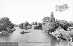 Staines, View From The Bridge c.1960