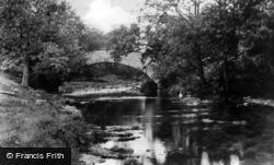 The Packhorse Bridge c.1955, Stainforth
