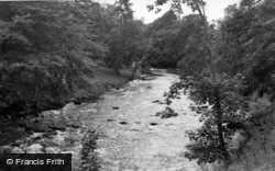 The River c.1955, Stainforth