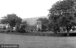 The Village And St Peter's Church c.1955, Stainforth