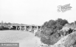 Stakeford, Bridge c.1955