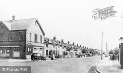 Stakeford, Gordon Terrace c.1950
