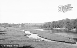 Stakeford, The Flats From The Bridge c.1955