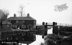 Stalham, Entrance To Canal, Wayford Bridge 1931