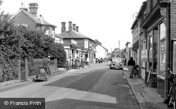 Stalham, High Street 1952