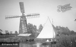 Hunsett Mill c.1933, Stalham