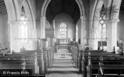 Stalham, St Mary's Church Interior 1952