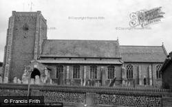 Stalham, St Mary's Parish Church 1968