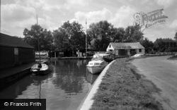 Stalham, The Moorings 1966