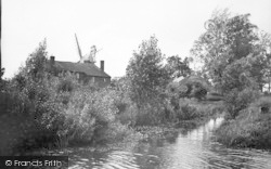 Stalham, The Old Windmill c.1935