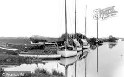 Stalham, The River At Wayford Bridge c.1931