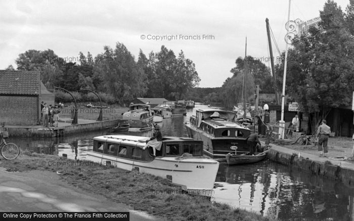 Photo of Stalham, The Staithe 1952