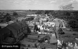 Stalham, View From The Tower 1966