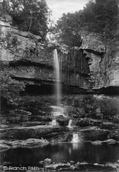 Park Scar Gill, Lower Falls 1911, Stalling Busk