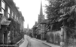Stamford, Barn Hill 1922