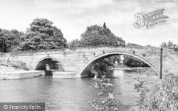 Stamford Bridge, The Bridge c.1960