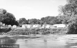 Stamford Bridge, The Caravan Site c.1960