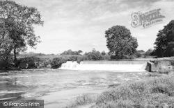 Stamford Bridge, The Weir c.1960