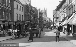 Stamford, Carts In The High Street 1922
