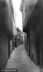 Stamford, Cheyne Lane c.1960