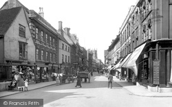 Stamford, High Street 1922