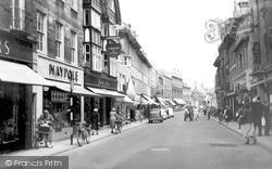 Stamford, High Street c.1960