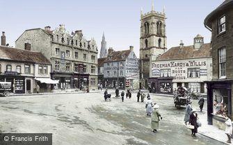 Stamford, Market Place 1922