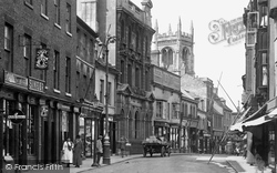 Stamford, Singer Shop, High Street 1922