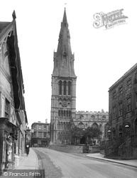 Stamford, St Mary's Church 1922