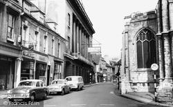 Stamford, St Mary's Church c.1960