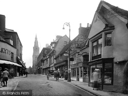 St Mary's Street 1922, Stamford
